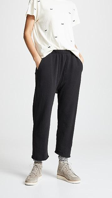 THE GREAT. Спортивные брюки в пижамном стиле