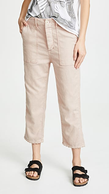 THE GREAT. The Rickrack Pants