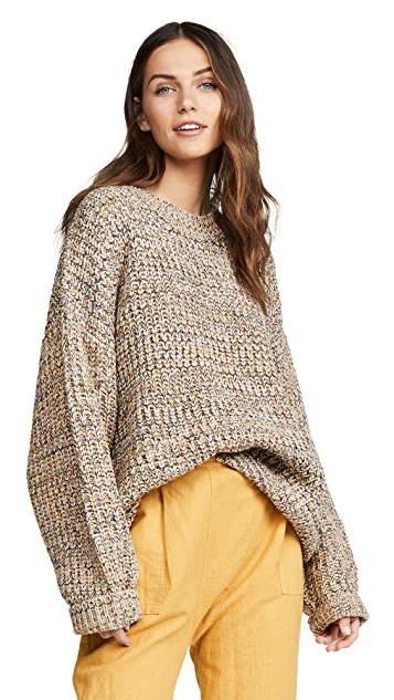 THE GREAT. The Marled Sweater