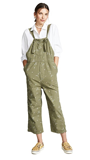 THE GREAT. Easy Overalls