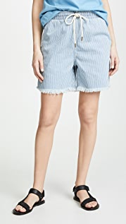 THE GREAT. Track Shorts