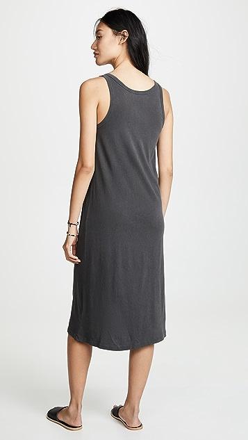 THE GREAT. Slim Henley Tank Dress