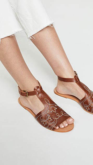 THE GREAT. The Western Sandal