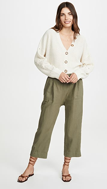 THE GREAT. The Wide Leg Harem Pants