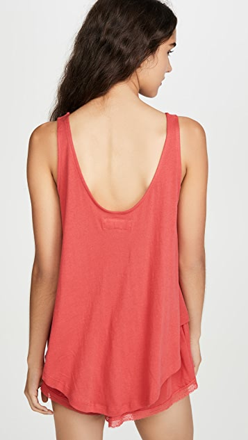 THE GREAT. Slouch Sleep Tank