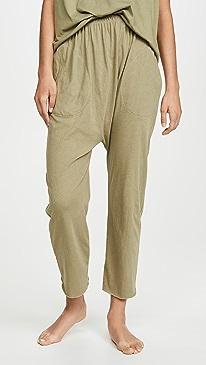 Sleep Lounge Cropped Pajama Pants