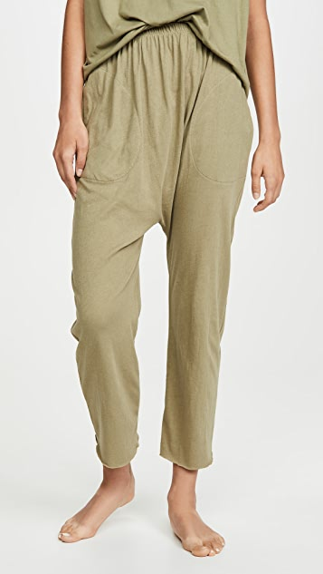 THE GREAT. Sleep Lounge Cropped Pajama Pants