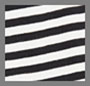 Black/Washed White Stripe