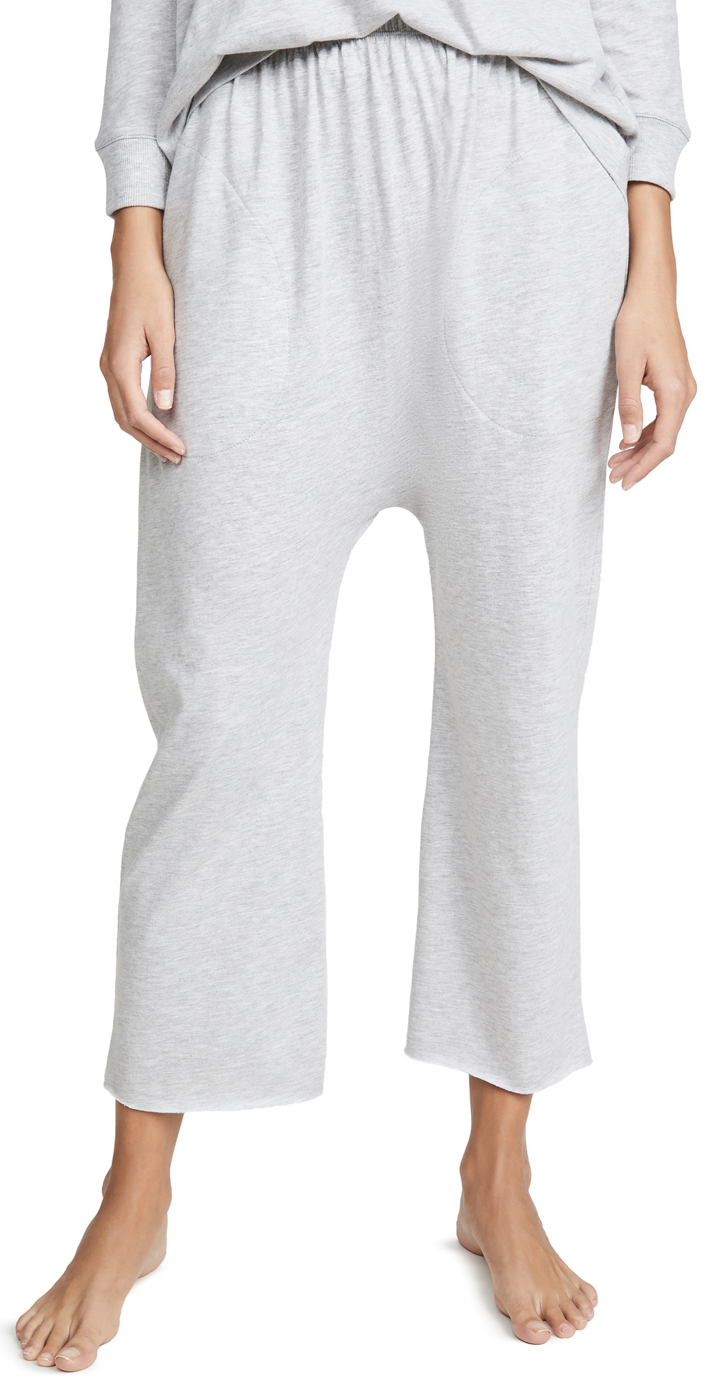 THE GREAT. Sleep Lounge Crop Pants