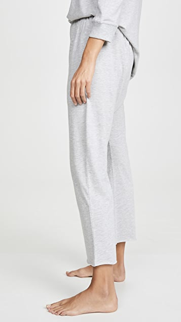 THE GREAT. Sleep Lounge Crop Pants