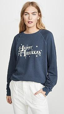 The College Sweatshirt w/ Hanukkah Graphic