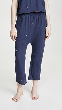 The Lounge Crop Sleep Pants