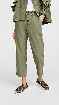 The Eyelet Gunny Sack Trousers