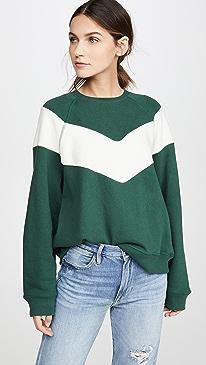 The Sherpa Chevron Sweatshirt