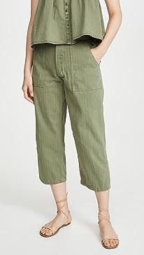 The Herringbone Trooper Pants