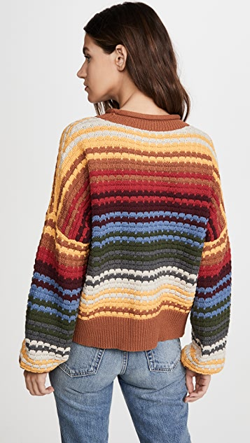 THE GREAT. The Savanna Sweater