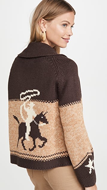 THE GREAT. The Cowgirl Cardigan