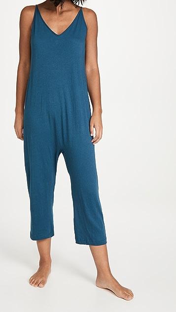 THE GREAT. The Slip Sleeper Jumpsuit
