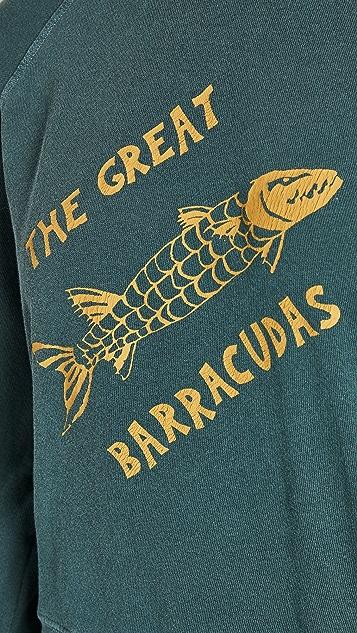 THE GREAT. 皱缩款运动衫