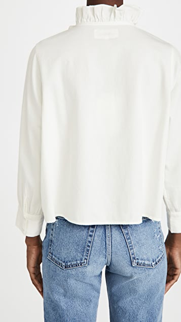 THE GREAT. Venetian 系扣女式衬衫