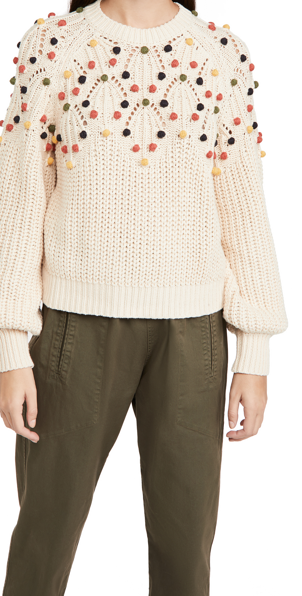 THE GREAT. The Frond Pullover