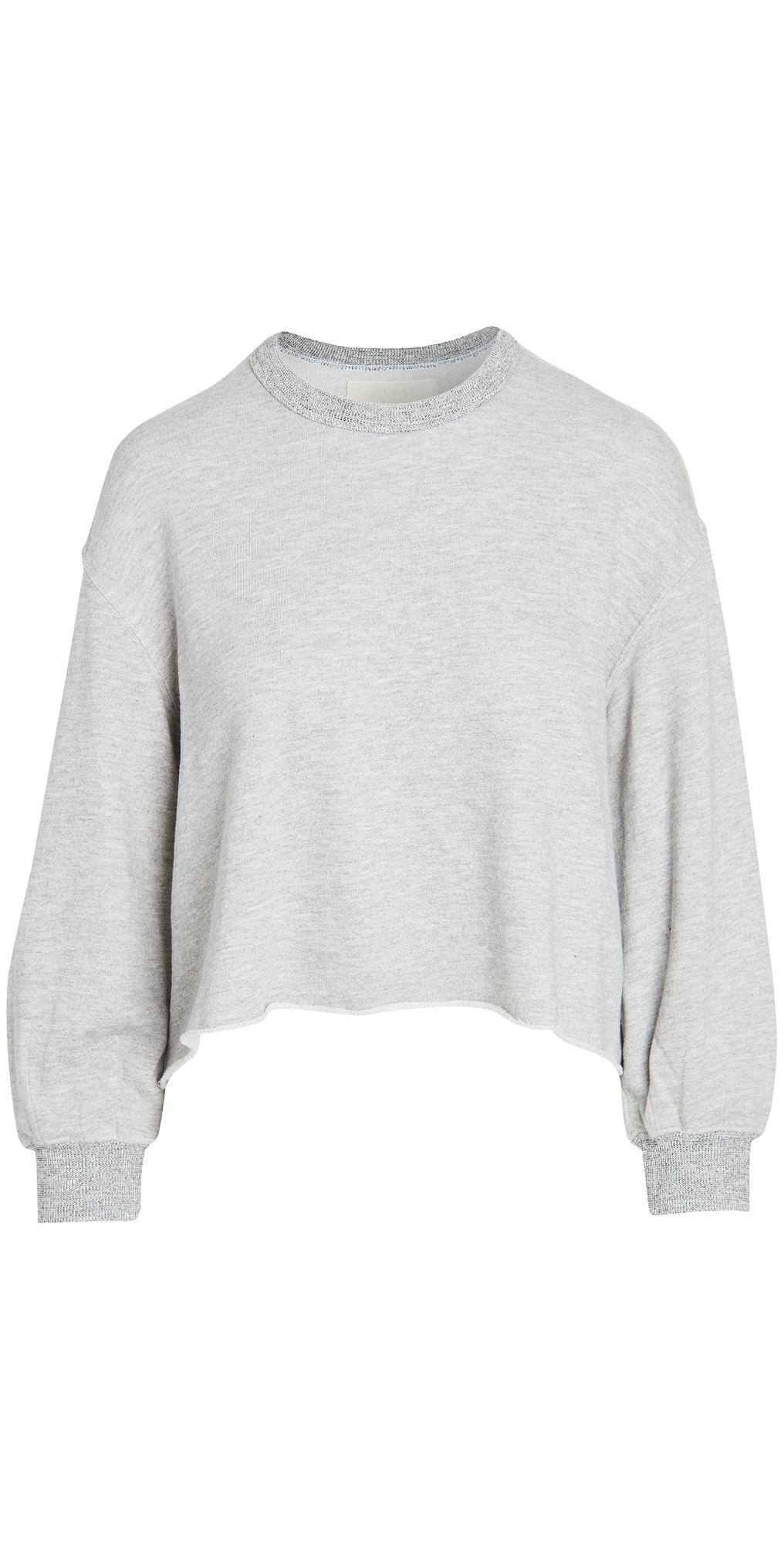 THE GREAT. The Sleep Cutoff Sweatshirt