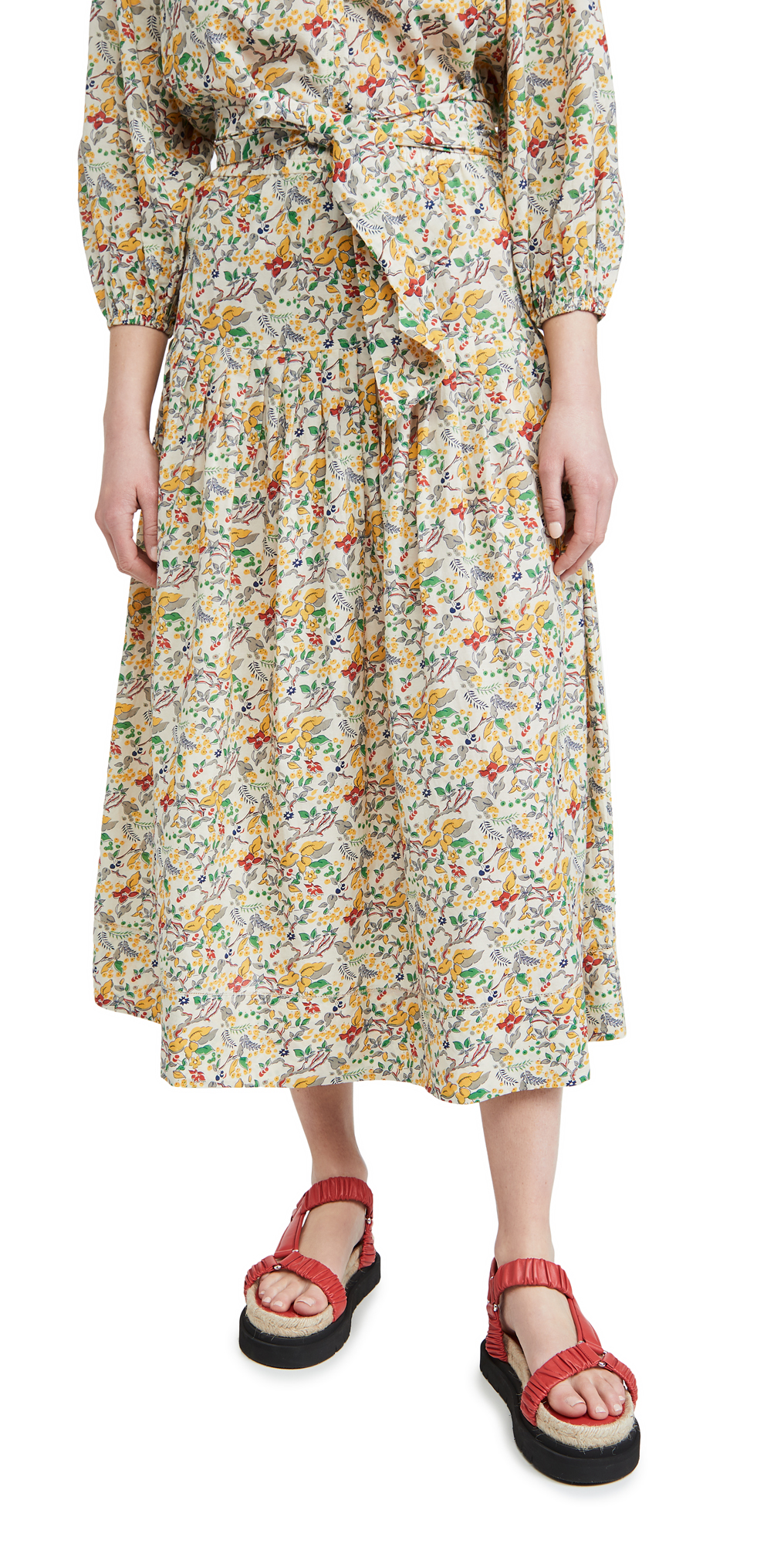THE GREAT. The Highland Skirt