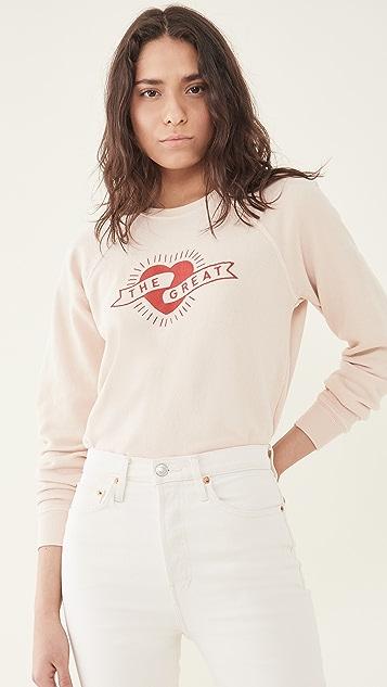 THE GREAT. The Shrunken Sweatshirt