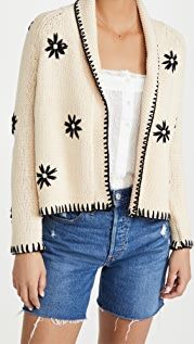 THE GREAT. The Daisy Lodge Cardigan