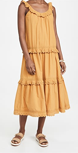 THE GREAT. - The Eyelet Magnolia Dress