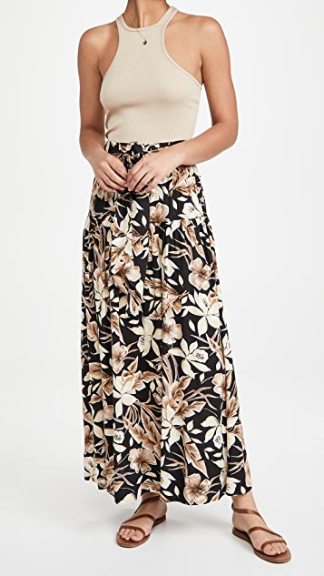 THE GREAT. The Long Highland Skirt
