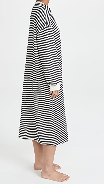 THE GREAT. The Sweatshirt Dress