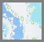 马赛克蓝色 / 青色 / 绿色