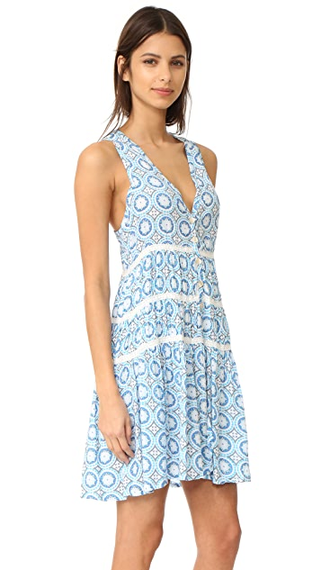 TIARE HAWAII Light House Mini Dress