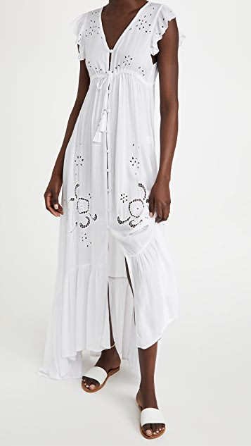 TIARE HAWAII Krawang 和服式连衣裙