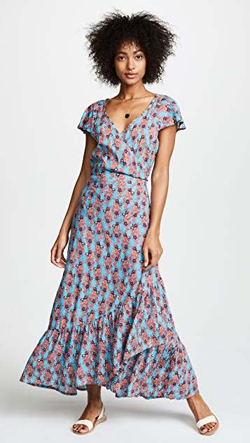 TIARE HAWAII Indica Wrap Dress