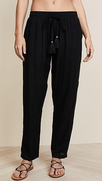 TIARE HAWAII Piper Pants - Black