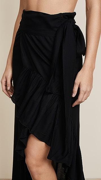 TIARE HAWAII Tulip Wrap Skirt
