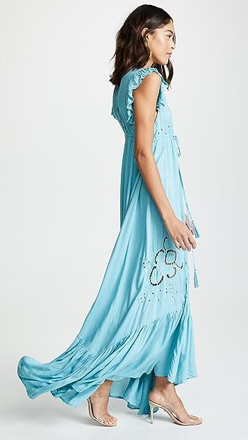 TIARE HAWAII Long Krawang Kimono Dress