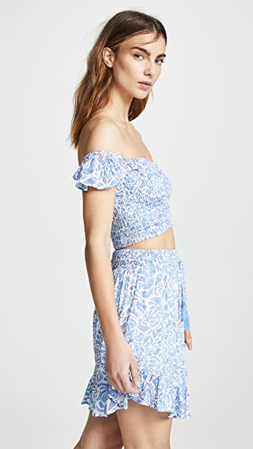 TIARE HAWAII Hollie Top & Lily Rose Skirt Set