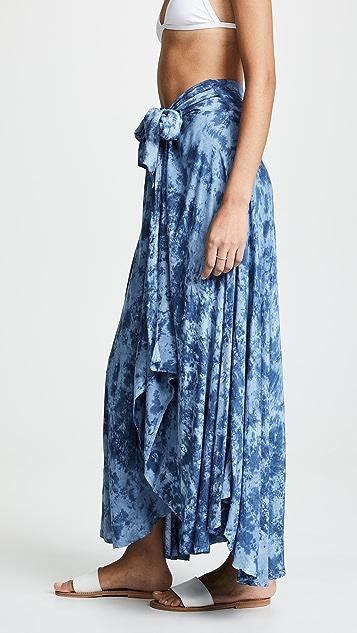 TIARE HAWAII Azure Skirt