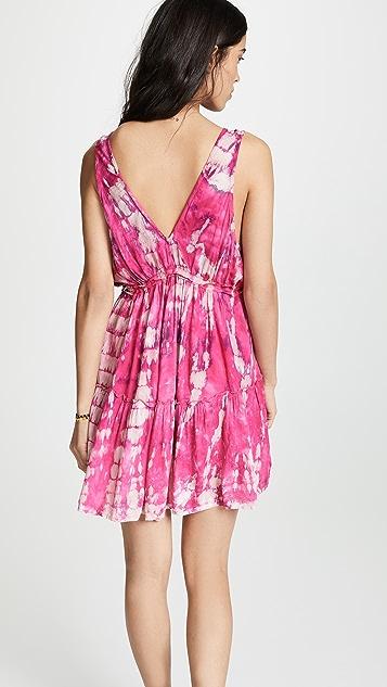 TIARE HAWAII Lilikoi Short Dress