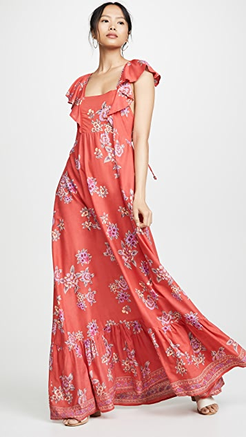 TIARE HAWAII Макси-платье Hula