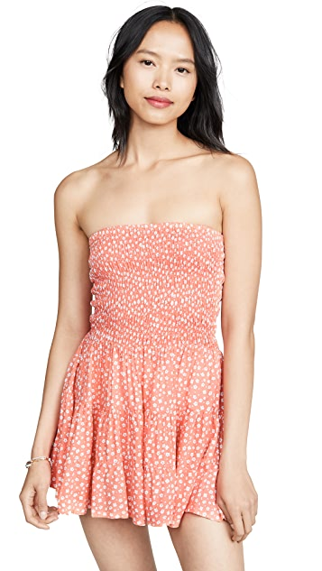 TIARE HAWAII Strawberry Wine Dress
