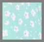 Floral Dot Seafoam