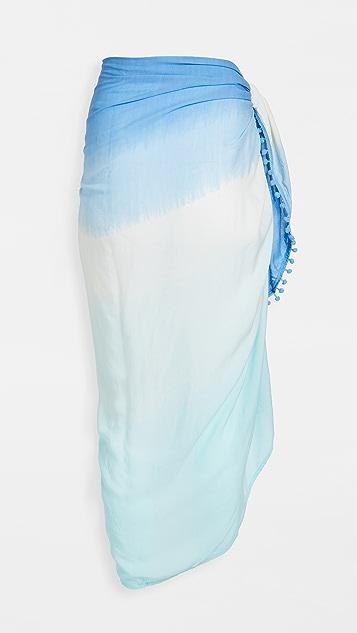 TIARE HAWAII 绒球纱笼