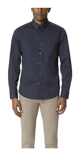 Theory - Sylvain Long Sleeve Button Down Shirt