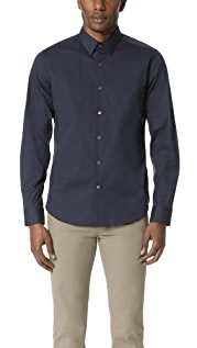 Theory Sylvain Long Sleeve Button Down Shirt