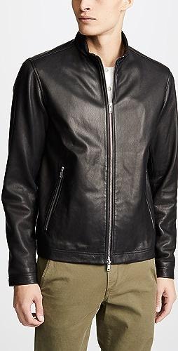 Theory - Morvek Lkelleher Leather Jacket