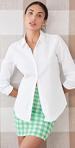 Theory - Luxe Tenia Button Down Blouse